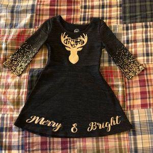 Custom Christmas dress for little girl XS (4/5)
